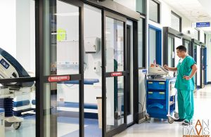 X-Ray Room Sliding Door