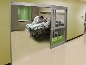 Extended doors installation in ICU