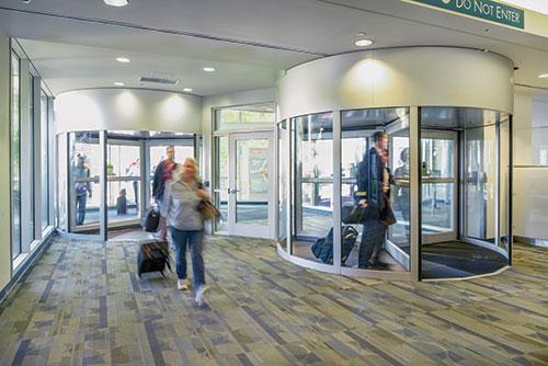 Automatic Door Enterprises Revolving Door Sensors Error-Free