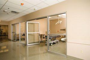 Automatic ICU Doors