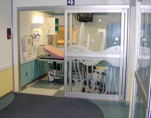 Sliding ICU Door