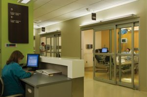 SWMC ICU Automatic Door