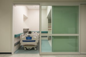 Door installation service for ICU Area