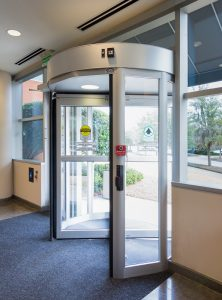 Revolving Door in Schools Burlington, London, Ottawa By Horton Automatics of Ontario