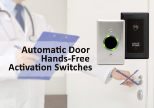 Automatic door hands-free activation switches from Automatic Door Enterprises