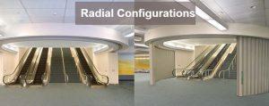 Won-Door Radial Configuration